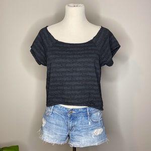 5/$25 💜 AERO Striped T-Shirt
